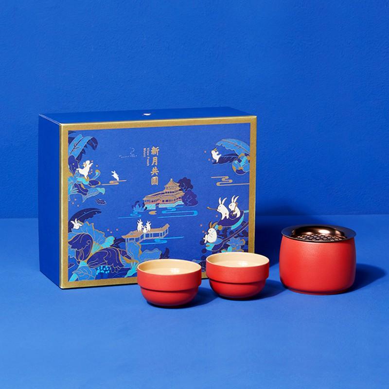 2020中秋礼盒-新月共圆·皓月茶具套装